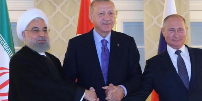 Cumhurbaşkanı Hasan Ruhani, Ankara'dan Tahran'a döndü