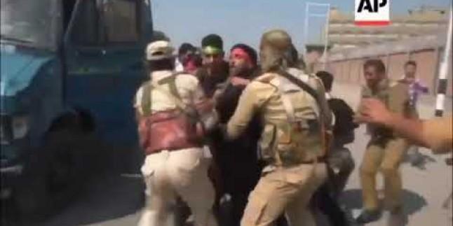Muharrem ayı hazırlığı yapan Keşmir Müslümanlarına Hindistan'ın İşgal güçleri tarafından müdahaleler