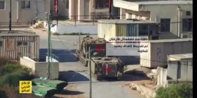İsrail medyası Hizbullah operasyonunun görüntülerini yayınladı