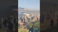 İdlip teröristleri sınırda Türkiye'ye girmeleri için izin vermeyen Türk Askeri ile çatışıyor