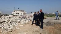İşgal Güçleri El-Halil'in Kuzeyinde Filistinlilere Ait Evi Yıktı