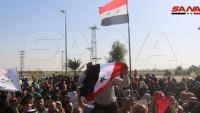 Suriye Halkı, Türkiye ve Amerika'nın saldırılarını protesto için meydanlara döküldü!