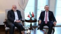 Zarif ve Çavuşoğlu Bakü'de Suriye'yi görüştü