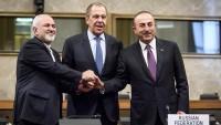 İran, Rusya ve Türkiye dışişleri bakanları Suriye'yi konuştu