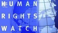 İnsan Hakları İzleme Örgütü'nden ABD'nin İran karşıtı yaptırımlara tepki