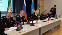 Hazar kıyısı ülkeleri arasında askeri işbirliği anlaşması
