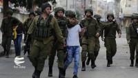 Siyonist İsrail güçleri 7 Filistinliyi tutukladılar