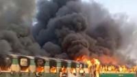 Pakistan'daki tren kazasında ölü sayısı 73'e yükseldi