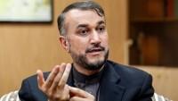 Emir Abdullahian: Siyonist rejimlere ve Halife rejimine bölgede yer yok
