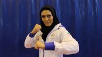 İranlı kadın wushucu dünya şampiyonu