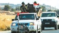 Suriye ordu birlikleri, Türkiye'nin sıfır sınır noktasına bayraklarını dikti!