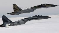 Rus ve Suriye savaş uçakları İdlib'de teröristlerin mevzilerini bombaladılar