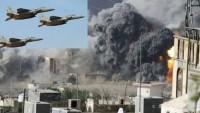 Katil Suud Koalisyonu Yemen'in Kuzeyine 170 Hava Saldırısı Düzenledi