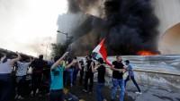 Irak'ta polis göstericilere ateş açtı! 13 ölü Yüzlerce Yaralı