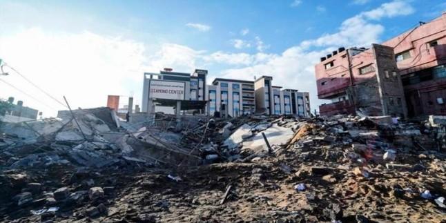 Irkçı İsrail'in Gazze'ye son saldırısında milyonlarca dolar hasar