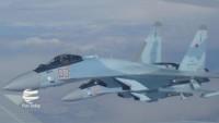 Rus ve Suriye savaş uçakları Halep'te teröristlerin mevzilerini bombaladı