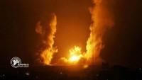Suudi koalisyonu Yemen'in Kemran adasını bombaladı