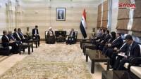 İran parlamento heyeti, Suriye Başbakanı ile görüştü