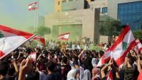 Lübnan'da gösteriler 25'inci gününde devam ediyor