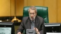 İran İslami Şura Meclisi Başkanı Ali Laricani: Düşmanların ülkede gerginlik yaratmasına fırsat vermeyeceğiz