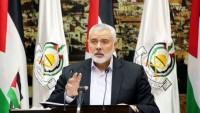 İsmail Heniyye: İşgal Rejimi Filistin Birliğini Engellemek İçin Ortalığı Karıştırıyor