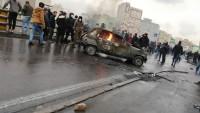 İran Kirmanşah'taki gösterilerde bir polis şehid oldu