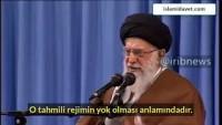 İmam Ali Hamaney İsrail'in yok edilmesinin ne anlama geldiğini açıkladı.