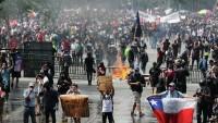 Şili'deki gösterilerde 2500'den fazla kişi yaralandı