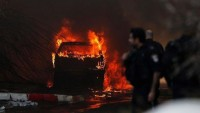 İsrail'in Niram Kasabası Grad Füzeleriyle Vuruldu