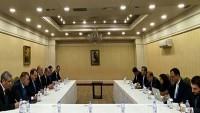 İran ve Suriye heyetleri 14. Astana toplantısı sırasında görüştü