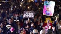 Irkçı İsrail'de binlerce gösterici Netanyahu'yu istifaya çağırdı