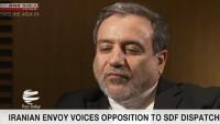 Irakçi: İran Batı Asya'da ecnebi güçlerin varlığına karşıdır