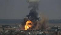 Siyonist rejim yine Gazze'yi vurdu