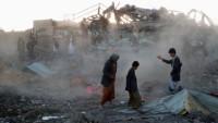 Katil Suud Rejimi Yemen'de Pazar Yerine Saldırıdı