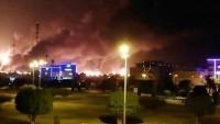 Yemen Hizbullahı ARAMCO Şirketinin Riyad'daki Petrol Tesislerini İHA'larla Vurdu
