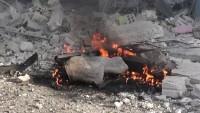 Terörist Grupların İşgalindeki Cerablus'ta Bomba Yüklü Araçla Terör Saldırısı