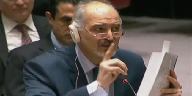Suriye'nin BM Temsilcisi: Katar, Arabistan ve Türkiye ABD'nin Emriyle Suriye Hükümetini Yıkmaya Çalıştı