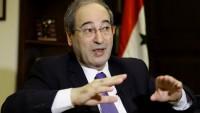 Faysal Mikdat: Kimyasal Silah Konusu Suriye'ye Karşı Komplonun Bir Parçasıdır