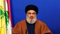 Hasan Nasrullah: ABD Lübnan gösterilerini şom emelleri için kullanmaya çalışıyor