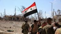 Suriye ordusu stratejik bazı yerleri geri aldı