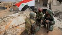 Suriye Ordusu Bir Bölgeyi Daha Kurtardı