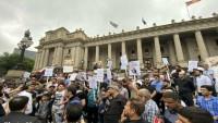 Avustralyalı öğrenciler şehit Süleymani suikastını kınadı