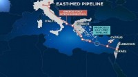 Siyonist rejim, Yunanistan ve Kıbrıs doğal gaz boru hattı anlaşmasını imzalıyor