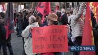 Roma'da ABD'nin terör eylemi protesto edildi