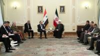 Suriye Başbakanı, Ruhani ile görüştü
