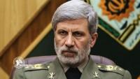 İslami İran Savunma bakanı: Amerika İran'ın füze kabiliyeti ve kararlılığına teslim olmuş