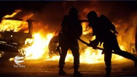 Fransa'da alevli gece: Yüzlerce araç kundaklandı