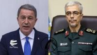Türkiye Savunma Bakanı ile İran Genelkurmay Başkanı görüştü