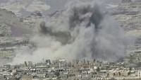 Suudi koalisyon, Yemen'in kuzeyini bombaladı