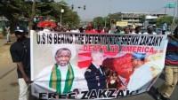Nijerya'da Halkı Şeyh Zakzaki için Gösteri Düzenledi